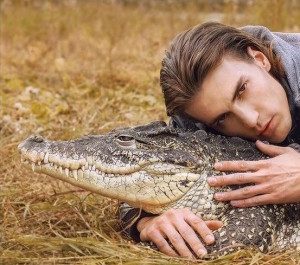 крокодил на фостосессию
